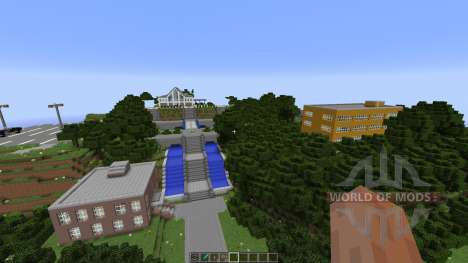 Angel Beats School [1.8][1.8.8] for Minecraft