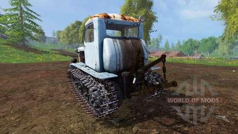 DT-75M Kazakhstan for Farming Simulator 2015