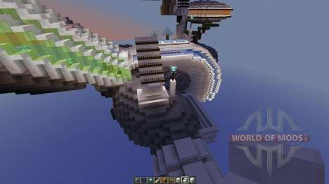 Asteroid Space Station for Minecraft