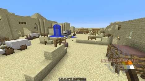 DESERT VILLAGE for Minecraft
