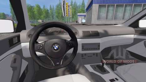 BMW 540i (E39) 2001 for Farming Simulator 2015