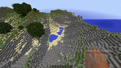 Small island for Minecraft
