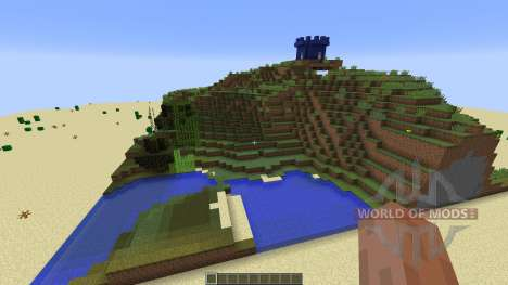paintball map 7 for Minecraft