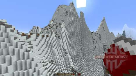 Mountainside Realistic Terrain for Minecraft