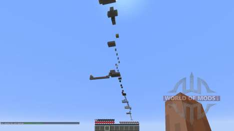 The Void Jump Parkour Map for Minecraft