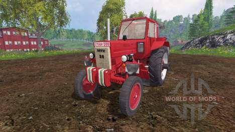 MTZ-80 red for Farming Simulator 2015