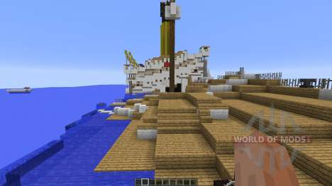 H.M.H.S.Britannic sinking for Minecraft