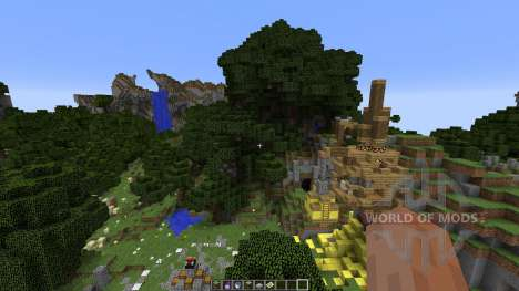 Minecraft SurvivalGames Map for Minecraft