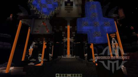 The Unholy Cathedral Most Evil map for Minecraft
