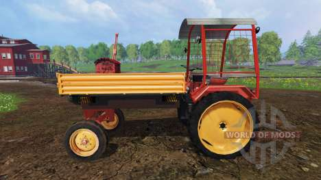 Fortschritt GT 124 with roof for Farming Simulator 2015