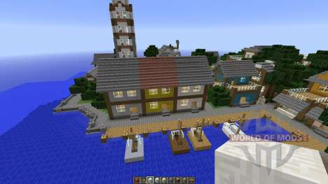 Minecraft town-Oakville for Minecraft