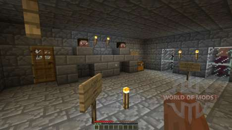 The Dead Crypt Adventure Map for Minecraft