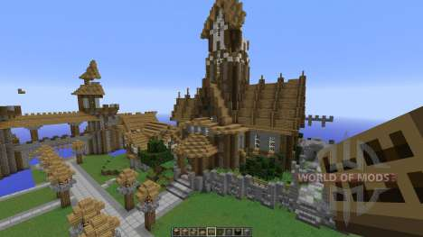 A Server spawn map for Minecraft
