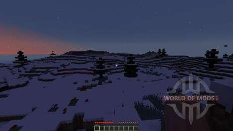 Snow Adventure Map for Minecraft