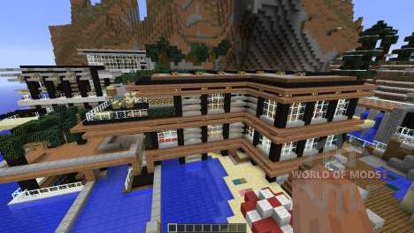 Luxurious Cove House for Minecraft