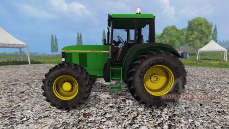 John Deere 6100 v2.0 for Farming Simulator 2015