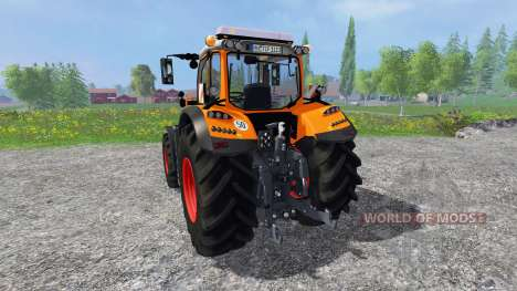 Fendt 718 Vario orange for Farming Simulator 2015