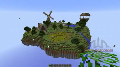 Sky Village for Minecraft