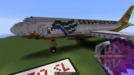 Airbus A320SL Cebu Pacific Airways for Minecraft