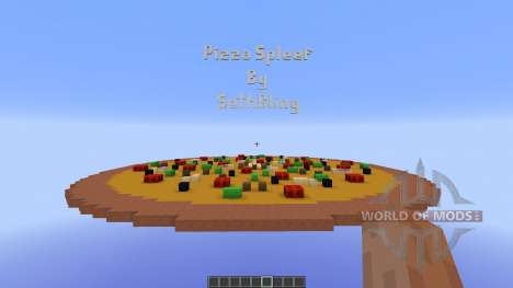 Pizza Spleef Minigame for Minecraft