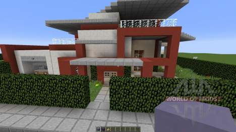 Retros Modern Metropolis for Minecraft