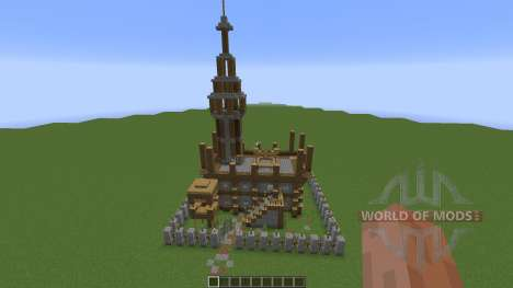 Small Medieval Fort for Minecraft