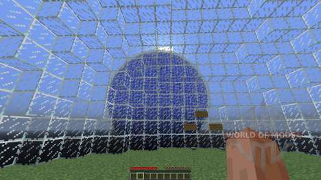 Glass sphere survival for Minecraft