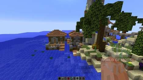 Survival Island Challenge for Minecraft