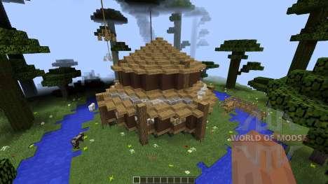 Clifftop Village [1.8][1.8.8] for Minecraft