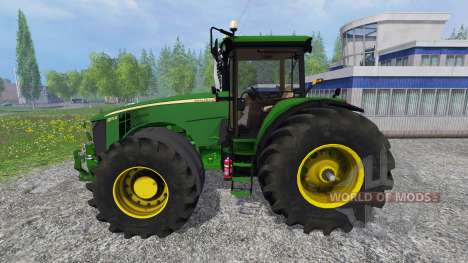 John Deere 8370R v3.1 for Farming Simulator 2015