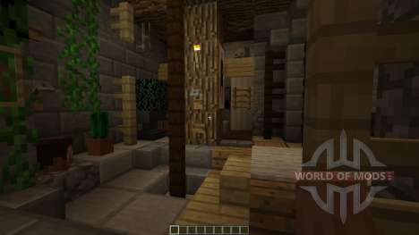 Medieval Watermill [1.8][1.8.8] for Minecraft