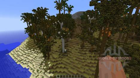 Tropical Island 2 for Minecraft