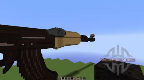 AK rifle [1.8][1.8.8] for Minecraft