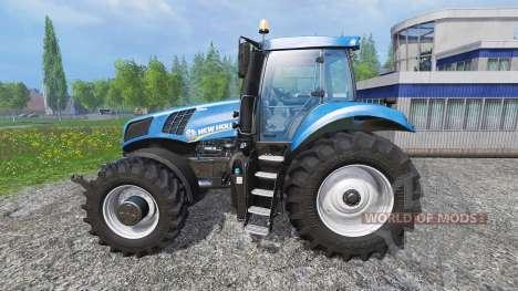 New Holland T8.320 v0.1 for Farming Simulator 2015