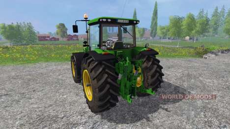John Deere 8360R v3.0 for Farming Simulator 2015