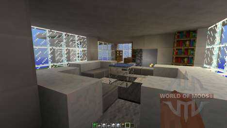 A Modern House for Minecraft