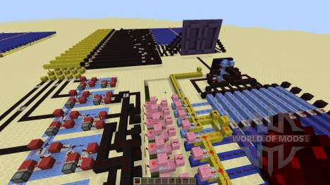 Redstone Calculator and Redstone Digital Clock for Minecraft