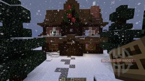 christmas adventure inspired villa for Minecraft