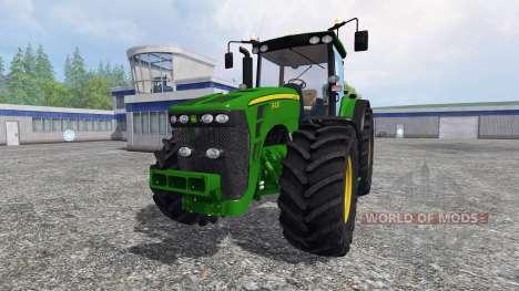 John Deere 8430 v2.0 for Farming Simulator 2015
