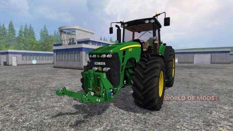 John Deere 8330 v4.0 for Farming Simulator 2015