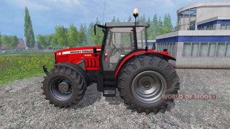 Massey Ferguson 6480 v2.0 for Farming Simulator 2015