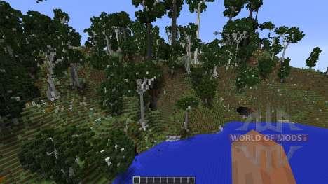 Birch Isle Tree Pack Featurette for Minecraft