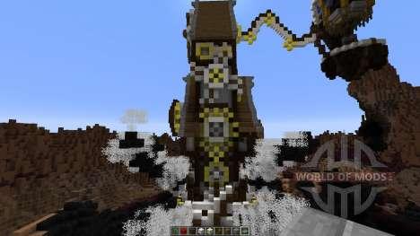 Mechanic steampunk spider for Minecraft