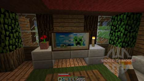 Survival House [1.8][1.8.8] for Minecraft