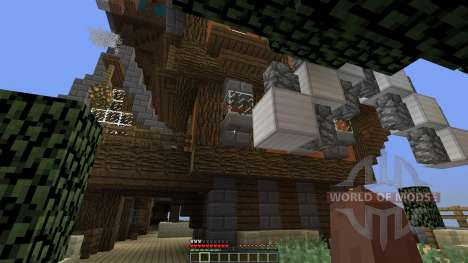 CloudHaven The Floating City for Minecraft