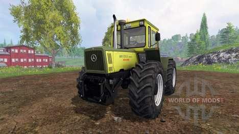 Mercedes-Benz Trac 1800 Intercooler for Farming Simulator 2015