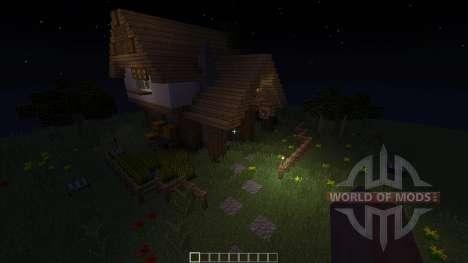 Medieval House Inn for Minecraft