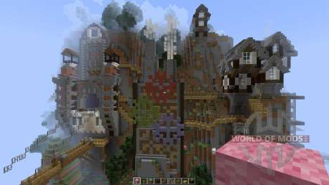 Steam Punk Sky Build [1.8][1.8.8] for Minecraft
