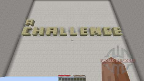 a Challenge for Minecraft