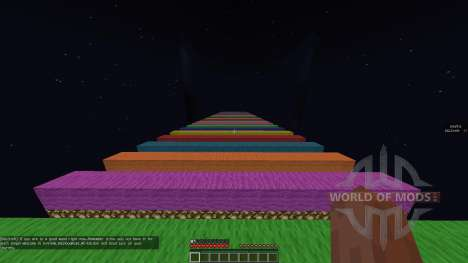 Extreme Rainbow Road [1.8][1.8.8] for Minecraft